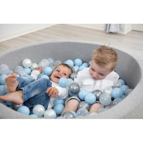 Suchy basen z piłeczkami 100x50 okrągły 500 szt. piłek