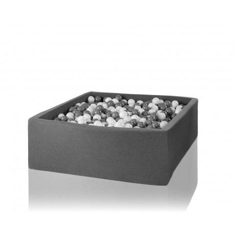 Suchy basen z piłeczkami 130x130x50 kwadratowy 700 szt. piłek