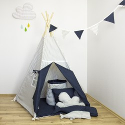 """Namiot tipi dla dziecka """"Wieczorna baśń"""" - zestaw maxi"""