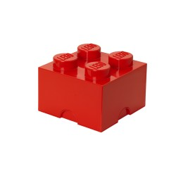 Pojemnik w kształcie klocka LEGO 4 - czarny
