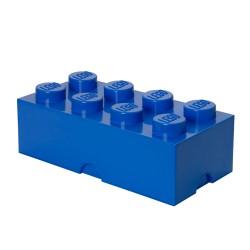 Pojemnik w kształcie klocka LEGO 8 - niebieski