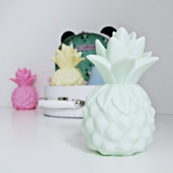 Lampka dla dziecka ananas - miętowa