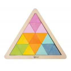 Układanka trójkąty