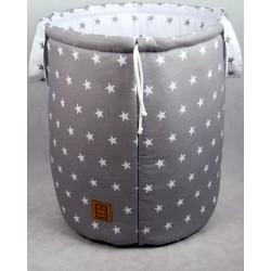 Dwustronny kosz na zabawki - pojemnik do przechowywania Gwiazdkowy zbiór