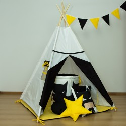 Namiot tipi dla dziecka Batman - zestaw mini