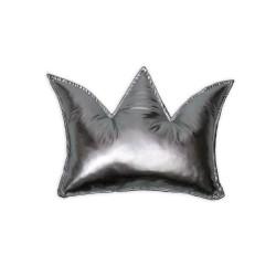 Poduszka korona - pudrowa łączka