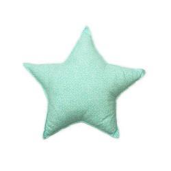 Poduszka gwiazdka - pudrowa łączka