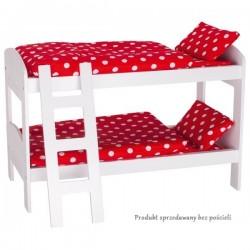 Goki drewniane łóżeczko piętrowe dla lalek
