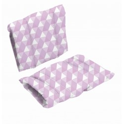 Poduszka do krzesła DanChair - HARMONY - fioletowy