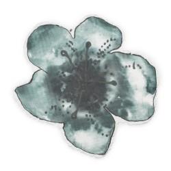 Elodie Details - Kocyk Bambusowy Embedding Bloom Petrol