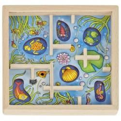 Gra zręcznościowa labirynt pod wodą