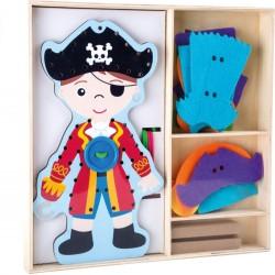 Pirat do ubierania - sznurowanka