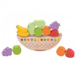 Balansująca gra z owocami