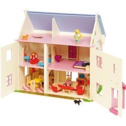 Domek dla lalek Różana Villa