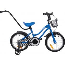 """Rowerek BMX 16"""" Gwiazdka - niebieski"""