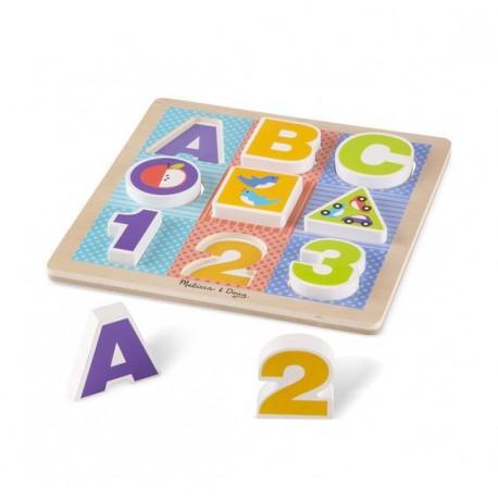 Układanka ABC - pierwsze puzzle